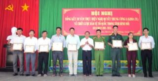 Châu Thành tổng kết 10 năm thực hiện Nghị quyết Trung ương 8 (khóa IX)