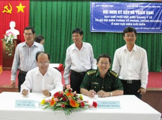 Phối hợp phòng, chống HIV/AIDS khu vực biên giới biển