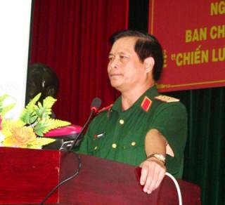 """Hội nghị quán triệt Nghị quyết Trung ương 8 (khóa XI) về """"Chiến lược bảo vệ Tổ quốc trong tình hình mới"""""""