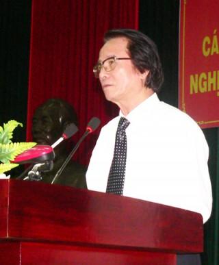 Hội nghị cán bộ chủ chốt cấp tỉnh quán triệt Nghị quyết Trung ương 8