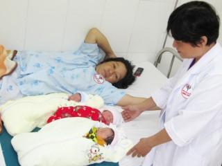 Cas sinh ba đầu tiên tại bệnh viện Minh Đức