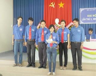 Hoàn thành Đại hội (điểm) Hội Liên hiệp Thanh niên Việt Nam xã Tân Thạch