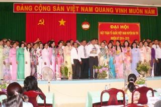 Mặt trận Tổ quốc Việt Nam huyện Ba Tri Đại hội nhiệm kỳ 2014-2019
