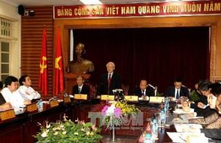 Tổng Bí thư Nguyễn Phú Trọng: Văn hóa - một trong bốn trụ cột để phát triển bền vững đất nước