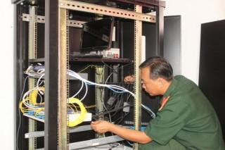 Ứng dụng công nghệ thông tin trong lĩnh vực quân sự - quốc phòng