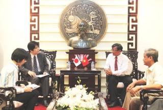 Phó Tổng Lãnh sự Nhật Bản chào xã giao lãnh đạo tỉnh