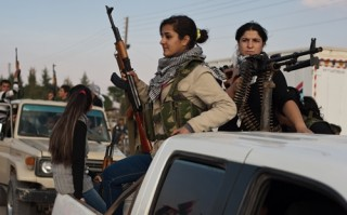 Chiến binh người Kurd sắp đẩy lùi được IS ra khỏi Kobani