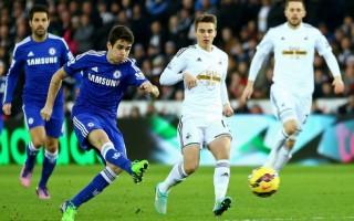 Chelsea dễ dàng đè bẹp Swansea trên sân khách