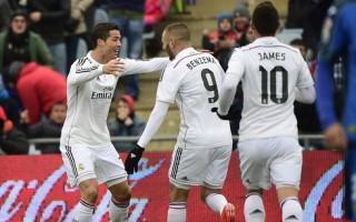 Ronaldo lập cú đúp, Real nhẹ nhàng thắng Getafe