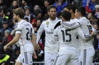 Không Ronaldo, Real Madrid vẫn đại thắng