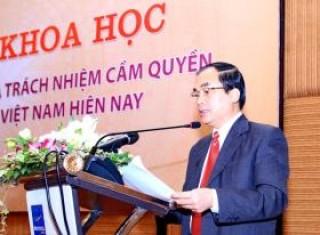 Nâng cao vị thế, vai trò và trách nhiệm cầm quyền của Đảng Cộng sản Việt Nam hiện nay