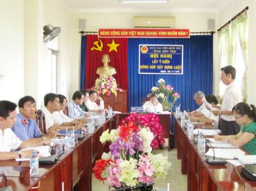 Đóng góp ý kiến xây dựng dự thảo Bộ luật Tố tụng hình sự (sửa đổi)