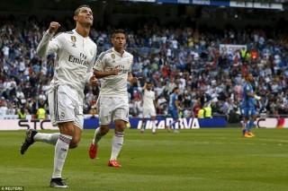 """Ronaldo lập thêm hat-trick trong trận đấu Real """"hủy diệt"""" Getafe"""