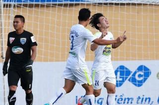 V-League: HAGL trận thứ 10 không thắng, Bình Dương vững ngôi đầu