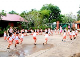 Trường ngoài công lập góp phần giảm áp lực tuyển sinh bậc mầm non