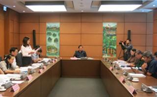 Thảo luận về Dự thảo Nghị quyết Nội quy kỳ họp Quốc hội