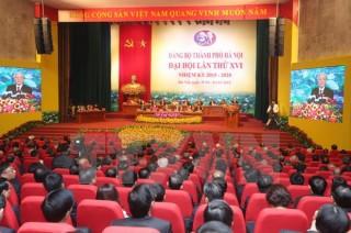 74 đồng chí được bầu vào Ban chấp hành Đảng bộ thành phố Hà Nội