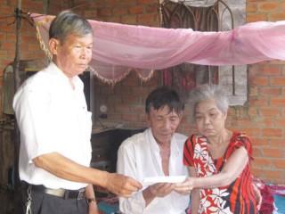 Bạn đọc hỗ trợ ông Nguyễn Văn Mới, xã Thới Lai