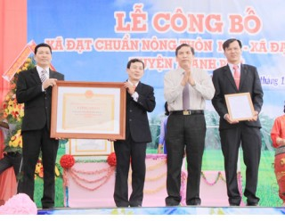 Đại Điền - xã đạt chuẩn nông thôn mới đầu tiên của Thạnh Phú
