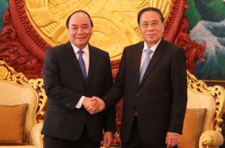 Lào đặc biệt coi trọng quan hệ hợp tác, đoàn kết đặc biệt với Việt Nam