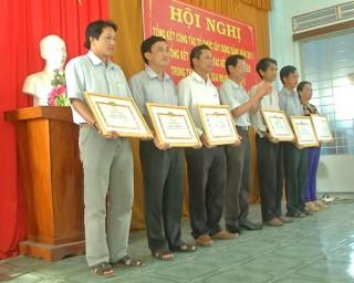 Các huyện ủy tổng kết công tác tổ chức xây dựng đảng năm 2015