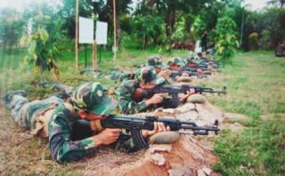 Trung đoàn Bộ binh khung thường trực 895 với phong trào Thi đua Quyết thắng