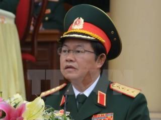 Đại tướng Đỗ Bá Tỵ tiếp xúc song phương bên lề ACDFIM-13