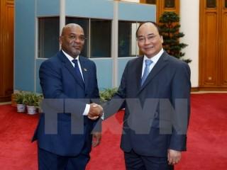 Thủ tướng Nguyễn Xuân Phúc tiếp Bộ trưởng Giao thông Mozambique