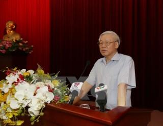 Báo cáo tình hình Biển Đông, Formosa với cán bộ cấp cao đã nghỉ hưu
