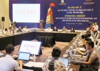 Gần 100 học giả trong nước và quốc tế tham gia hội thảo khoa học về Biển Đông