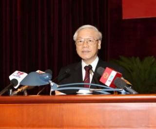 Tổng Bí thư Nguyễn Phú Trọng dự lễ Kỷ niệm 20 năm thành lập Hội đồng Lý luận Trung ương