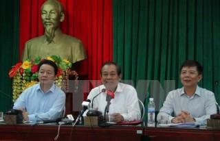 Phó Thủ tướng Trương Hòa Bình đối thoại với ngư dân Quảng Bình