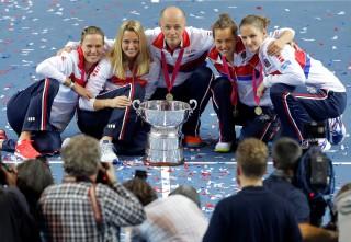 CH Czech lần thứ ba liên tiếp vô địch Fed Cup