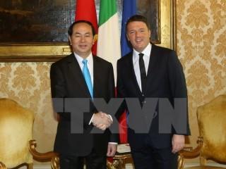 Kết quả chuyến thăm Italy của Chủ tịch nước Trần Đại Quang