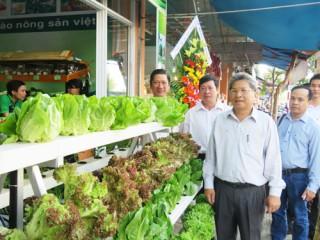 Khai trương cửa hàng nông sản an toàn