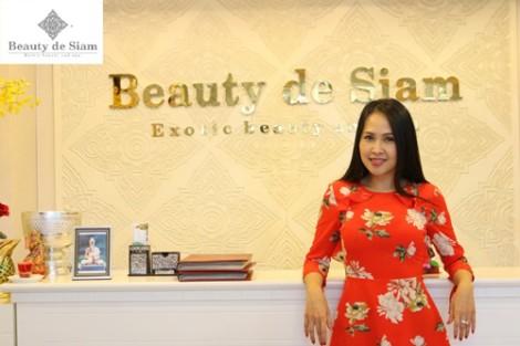 Diễn viên Minh Thư trải nghiệm làm đẹp kiểu Thái tại Beauty de Siam