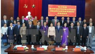 Chủ tịch Quốc hội Lào Pany Yathotou thăm, làm việc tại Bạc Liêu