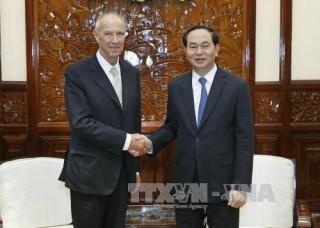 Chủ tịch nước Trần Đại Quang tiếp Tổng Giám đốc Tổ chức Sở hữu trí tuệ thế giới