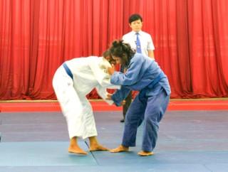 Khai mạc giải Judo - Đại hội Thể dục thể thao đồng bằng sông Cửu Long