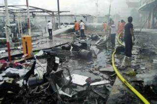 Quân đội Thái Lan truy lùng 4 nghi can vụ đánh bom xe tại siêu thị