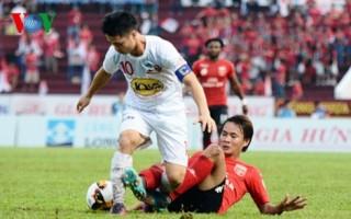 Vòng 15 V-League: HAGL thua thảm, FLC Thanh Hóa và Hà Nội FC cùng hòa