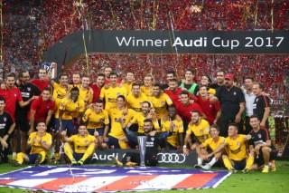 Điểm tin sáng 3-8: Hạ Liverpool, Atletico Madrid vô địch Audi Cup