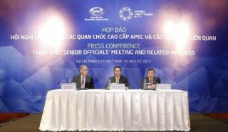 Bế mạc Hội nghị lần thứ ba các quan chức cao cấp APEC 2017