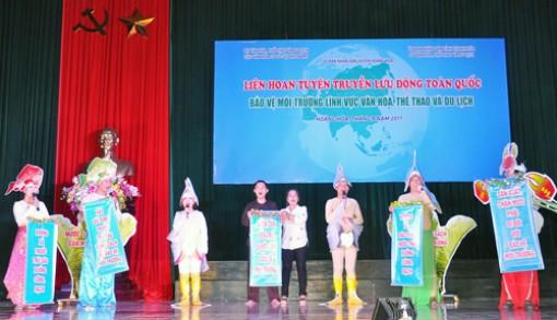Kết thúc Liên hoan tuyên truyền lưu động toàn quốc về công tác bảo vệ môi trường