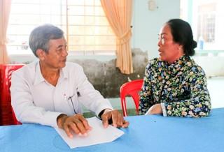 Tư vấn pháp luật lưu động miễn phí tại xã Bình Thắng
