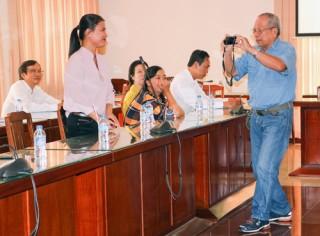 Họp mặt cộng tác viên và sinh hoạt chuyên đề ảnh báo chí