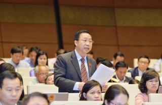 Đại biểu Lưu Bình Nhưỡng chất vấn Bộ Trưởng Bộ tài chính