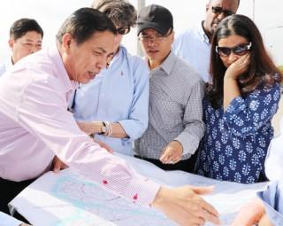 Chủ tịch UBND tỉnh Cao Văn Trọng: Tiếp và làm việc với đoàn công tác Ngân hàng Thế giới