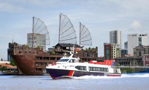 Chuyến tàu thủy cao tốc Bến Tre - Vũng Tàu chính thức vận hành