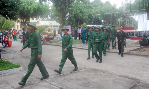 Trên 1,3 ngàn quân nhân hoàn thành nghĩa vụ quân sự